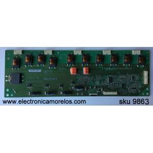 BACKLIGHT INVERSOR / NEC 19.54P01.002 / Rev:6 / VIT71881.01 / MODELO E552 / PANEL P546HW01 V.0