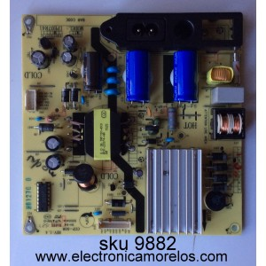 FUENTE DE PODER / TCL 81-PBE040-G92 / CCP-508 / IPE07R41 / IPE07R21C