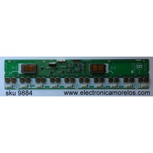 BACKLIGHT IVERSOR SCLAVA  / LG PHILIPS 6632L-0154A / KLS-420CP-B / MODELO LHD4204US / PANEL LC420W02(SL)(A1)
