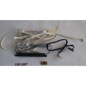 KIT DE CABLES PARA TV / COBY TFTV3229