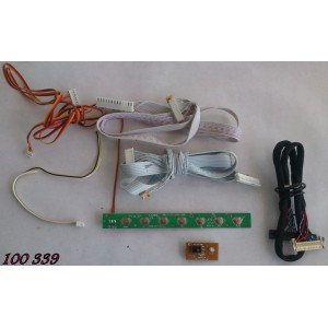 KIT DE CABLES PARA TV / COBY LEDTV3226