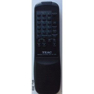 CONTROL REMOTO CD PLAYER MARCA TEAC / RC-1122