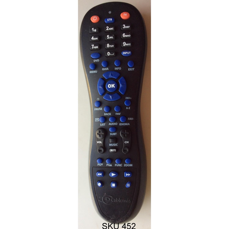 Control Remoto Para Tv Cablemascontrol Remoto Para Tv