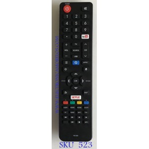 CONTROL REMOTO JVC SMART TV / RC320 / 06-532W54-TY05XS / DH17122
