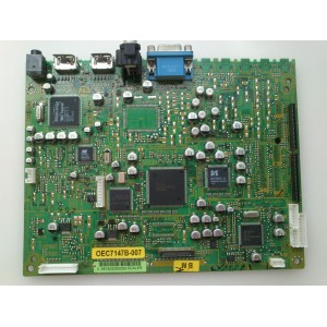 VIDEO SCALER  TOSHIBA 72784101  / OEC7147B-007 / CEF156A   / OEC7147A-079 / SUSTITUTAS 75011149  / 75004630 / MODELO 50HP66