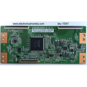 T-CON / TCL 4T-TCN550-CS15 / 3429110036 / 34291100360811 / ST5461D04-1-C-1 / MODELOS 55US5800TAAA / 55US5800TCAA / 55US5800TDAA / 55UP120 55UP120TBAA / 55US5800TAAA /TDAA /TCAA / 55US57TGAA / PANEL LVU550CS0T E1 V1 / LVU550ND1L CD9W00