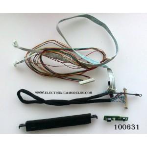 KIT DE CABLES PARA TV / AURUS DLD320D-1R / MODELO DLED-3209XN