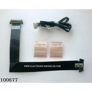 KIT DE CABLES PARA TV / SAMSUNG BN96-17116Z / MODELO UN40EH5000FXZA TS02