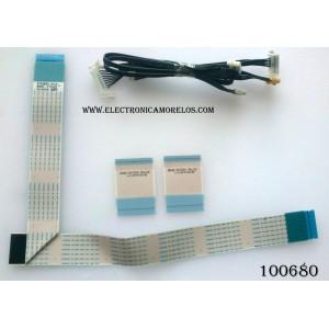 KIT DE CABLES PARA TV / SAMSUNG BN96-31530Q / MODELO UN55H6300AFXZA TH01