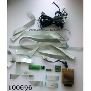 KIT DE CABLES PARA TV / PIONNER AWZ6658 / AWZ6696 /AWZ6655 / AWZ6657 / MODELO PDP-433PU