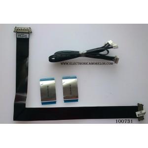 KIT DE CABLES PARA TV / SAMSUNG BN96-22239V / MODELO UN50EH5000FXZA PJO3