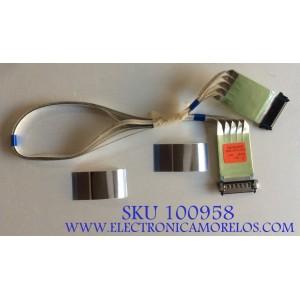 KIT DE CABLES LG / E129545 / BAD62430007 / MODELO 50LN5100-UB