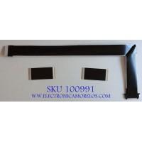 KIT DE CABLES PARA TV SHARP /  E351988 / 20706 / 1187937 / MODELO LC-65Q620U