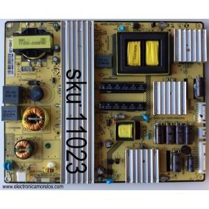FUENTE  SANYO NUMERO DE PARTE 81-PBE055-H21 / COMPATIBLE 81-PBE055-H22 / SHLD5501F-101H / CQC12001080094 / 5503F 81-PBE055-H21 / E230265 / DLBL297 / MODELO DP55D44 /  CHASSIS  COMPATIBLES P55D44-00 / P55D44-08 / P55D44-09