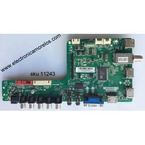 MAIN / SANYO B14031223 / 02-MB3393-CQS001 / T.MS3393T.78 / 3MS3393X-3 / MODELO DP50E44 P50E44-00 / PANEL V500H1-LS6 REV.E4