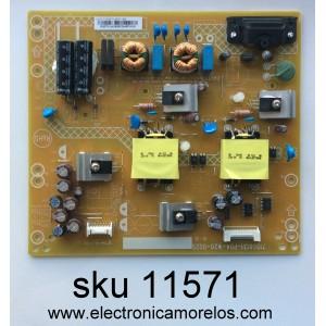 FUENTE DE PODER / VIZIO PLTVGQ371UAC5 / (Q)PLTVGQ371UAC5 / 715G6131-P04-W20-002S / 715G6131-P03-W20-002S / MODELO D43N-E1 LTT7VNAS / PANEL TPT430H3-DUYSHA.G REV:S1AL