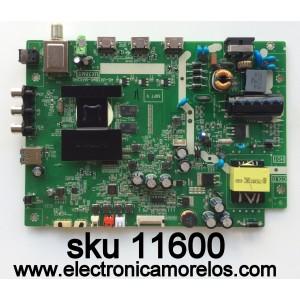 MAIN  / FUENTE / (COMBO) / TCL  T8-32NAZP-MA4  / V8-UX38001-LF1V032 / 40-UX38M0-MAD2HG / UX38M0 / GTC000821 / T8-32NAZP-MA4 / MODELO 32S3750 / PANEL LVW320CSOT