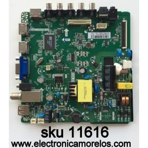 MAIN FUENTE / ELEMENT H16081266 / TP.MS3393T.PB758 / MODELO LE-32GJL4-B3 / PANEL BOEI320WX1-01