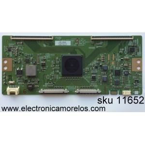 T-CON / VIZIO 6871L-3975D / 3975D / 6870C-0556B / MODELO E65-E1 LTMWVKBS / PANEL LC650EQF(PH)(F1)