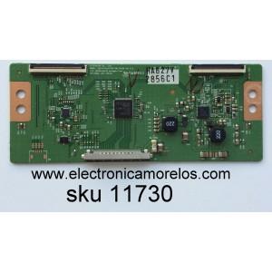 T-CON / LG 6871L-2856C / 2856C / 6870C-0401B / MODELO 55LM4600-UC AUSWLUR / PANEL LC550EUE(SE)(F1)