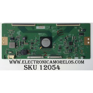 T-CON / LG 6871L-4727A / V16 75UHD 120HZ / 4727A / MODELO 75UH8500-UD.AUSWLJR / PANEL LC750EQF(FJ)(F1)