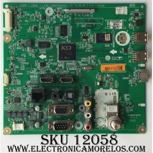 MAIN / LG EBT62523702 / EAX65071307(1.1) / EBR77130501 / MODELO 42LN549E-UA.BUSYLJR / PANEL LC420DUE(SF)(R1)