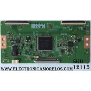 T-CON / LG 6871L-4221A / 4221A / 6870C-0535C / MODELO 49UF6430-UB.AUSYLJR / PANEL LC490EGE(FH)(M1)