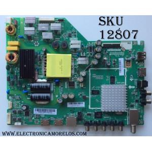 MAIN / FUENTE / VIZIO A16110822 / TP.MT5580.PB75 / 75500W01A / MODELO D43-D2 LWZ2ULDT / PANEL T430HVN01.0