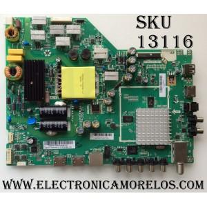 MAIN / FUENTE / VIZIO 75500W01A009 / A16110627 / TP.MT5580.PB75 / MODELO D43-D2 LWZ2ULDT / PANEL T430HVN01.0