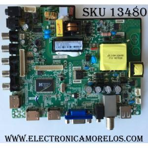 MAIN / FUENTE (COMBO) / ELEMENT 4BH1261 / CV3393BH-U32 / 890-M00-06NAO / MODELO ELEFW328