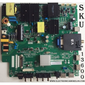 MAIN / FUENTE / (COMBO) A16090230 / TP.MS3458.PC758 / MODELO U55 PCIV58CE / PANEL HV550QUB-N81