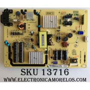 FUENTE / TCL 81-EL391C8-PL290AA / 40-EL3918-PWB1XG / MODELO 40FS4610R