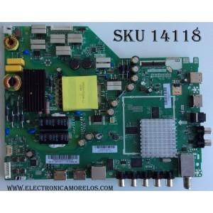 MAIN / FUENTE / (COMBO) / VIZIO A16089796 / 75500W01A009 / TP.MT5580.PB75 / MODELO D43-D2 / PANEL T430HVN01.0
