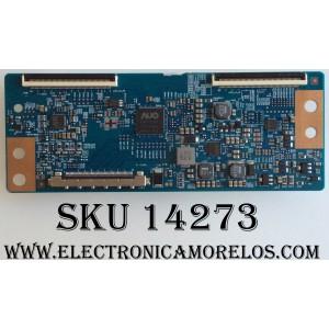 T-CON / ELEMENT 55.43T01.C30 / T430HVN01.0 / 43T01.C0B / 5543T01C30 / MODELO ELST4316S C7A1M / ELST4316S D7A0M