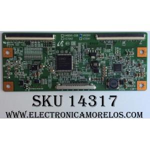 T-CON / SAMSUNG / SEIKI / 35-D043619 / V400H1 / MODELO LN40C530F1FXZA / LN40C500F3FXZA / LN40C560J2FXZA / LN40C550J1FXZA / LN40C530F1FXZA CN01  / LN40C530F1FXZA CN03 / LC-40G81 /  PANEL  V400H1-L08 REV C2