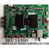 MAIN / INSIGNIA T8-UX38004-MA3 / 40-UX38NA-MAG2HG / DAF7501027 / V8-UX38001-LF1V204(C5) / MODELO NS-40DR420NA16