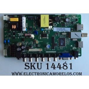 MAIN / FUENTE / (COMBO) / SCEPTRE 50043393B01100 / TP.MS3393.PA501 / M236HJJ-P02 C4 / MODELO E246BV-FMQC
