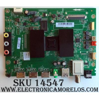 MAIN / TCL V8-UX38001-LF1V025(C2) / GTC000193A / 40-UX38NA-MAG2HG / MODELO 55FS3750  W8U55FS3850