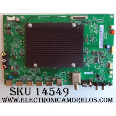 MAIN / TCL V8-SX70001-LF1V407 / GTA1600079 / 08-SX70003-MA200AA / 08-CS550CUN-OC401A / 08-SX70003-MA300AA / 40-SX7KNA-MAG4HG / MODELO  55UP120