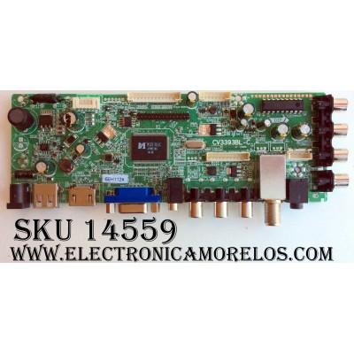MAIN / AXESS 66H1124 / 10010144 / BJM1-82401-1T8G / CV3393BL-C / PANEL M240AE1N01-4 / M240HRN01.2 /MODELO TVD1801-24
