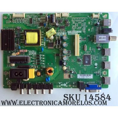 MAIN / FUENTE (COMBO) / SANYO B13095197 / 02-SHY39B-CHS1 / TP.MS3393.P77 / 3MS3393X / MODELO DP32D53 P32D53-01 / DP32D53 P32D53-00