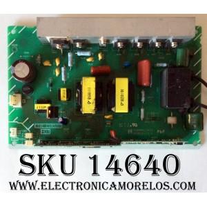 BALASTRA DE LAMPARA / PANASONIC EUBMM021A10 / NPB021A10-1 / MODELO PT-56DLX25 / PT-56DLX75 / PT-61DLX25 / PT-61DLX75
