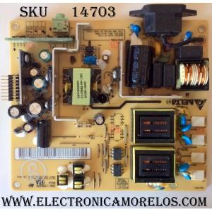 FUENTE DE PODER BACKLIGHT INVERTER / VIEWSONIC 27-D009542 / DAC-19M009 / MODELO VG2230WM / VX2245WM