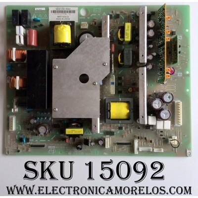FUENTE DE PODER  / AKAI MPF7410A / PCPF0039 / ND61100-0003 / MPF7410 /  PANEL  FPF42C128128UE-51 /  MODELO PDP4225M