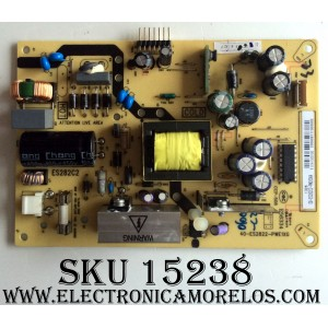 FUENTE DE PODER / TCL 08-ES282C2-PW200AA / 40-ES2822-PWE1XG / MODELO LE32HDF3010TAAA / PANEL LVW320NDCL