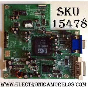 MAIN DIGITAL / VIEWSONIC 21LAVPMB003 / DALAVPMB011 / PANEL LTM213U6-L01 / MODELO VP2130B VS10773