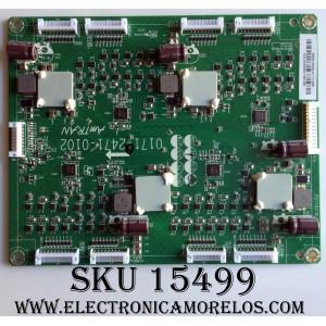 LED DRIVER / VIZIO 3655-0052-0111 / 0171-2471-0102 /  P211821B_01 / MODELO M55-D0 LAUSTZAS