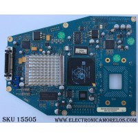TARJETA FORMATEADORA DMD / CK80L6501G / 00.L6501G001 / 80.L6501G001 / R4A VER:D / MODELO 50ML8105D /17