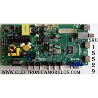 """MAIN / FUENTE /(COMBO)/ TCL L15093181 / TP.MS3393T.PB710 / MS39PV / GTC000277A / T8-32NATL-MA2 / 02-SHY39V-CHNA04 / V8-MS39PVN-LF1V046 / V8-WS39PVN-LF1V046 / MODELO 32"""" / PANEL LVW320CSOT E232 V1"""