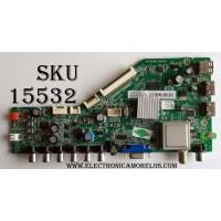MAIN / TCL NTA1200086 / V8-ORSC809-LF1V012 / 40-RSC803-MAD2HG / 08-RSC8L01-MA200AA / 08-CM39TML-LC210AA / 08-RSC8L01-MA300AA / V8-0RSC809-LF1V012 / PANEL LVF390CMTM E11 V3 / MODELO LE39FHDF3300TA / LE39FHDF3300TATCAA